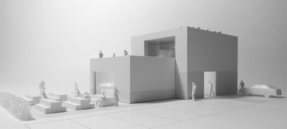 Enrico sassi architetto casa comunale cimadera for Casa comunale